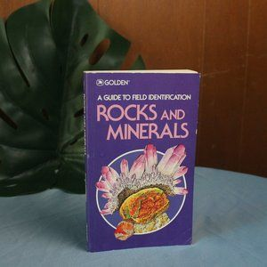 VINTAGE PURPLE ROCKS AND MINERALS FIELD GUIDE